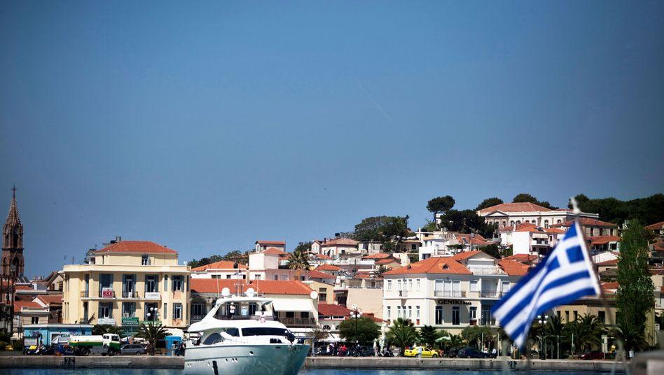 Yachthafen in Mytilene, Griechenland: Haushalte vermögender als in Deutschland