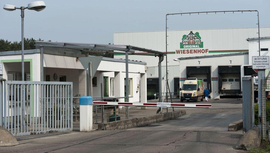 Wiesenhof-Schlachterei in Möckern: Der Betrieb läuft wieder