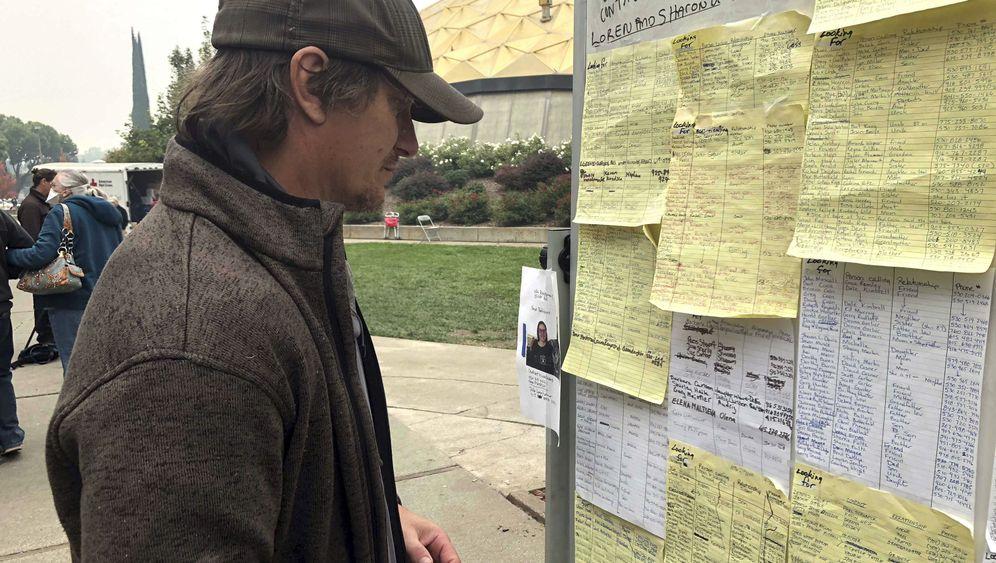 """Vermisstensuche in Kalifornien: """"Ich hoffe, dir geht es gut"""""""