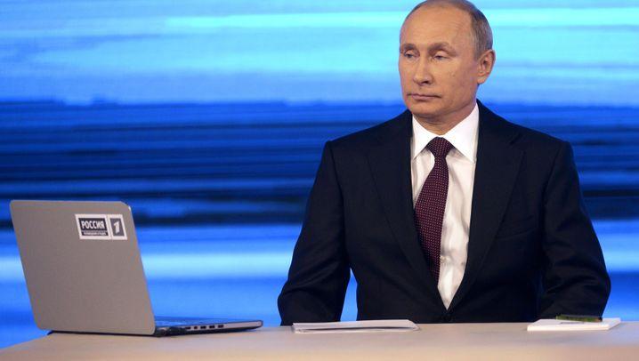 "TV-Sendung ""Direkter Draht"": Frag den Wladimir!"