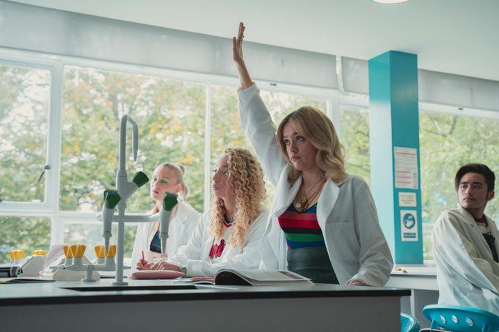 Szene mit Aimee Lou Wood: Wundervoll ehrlich