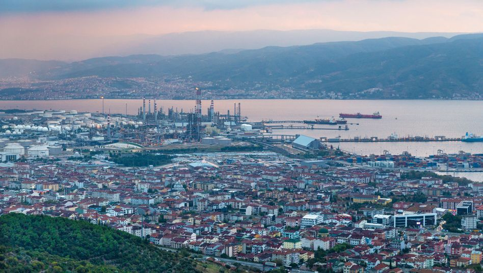 The city of Kocaeli, just east of Istanbul