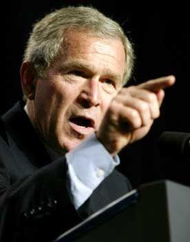 Bush: Wissenschaftslügen im Dienst der Politik