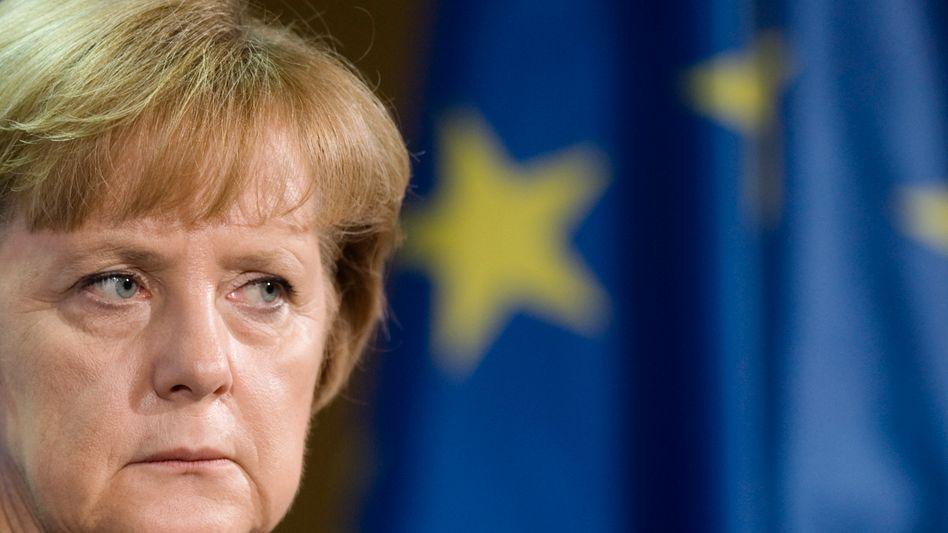Bundeskanzlerin Merkel: Nur noch Co-Pilotin in der Euro-Krisenpolitik