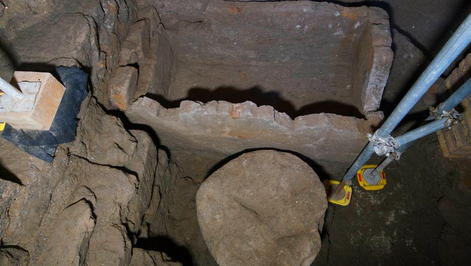 Sarkophag-Fund: Forscher präsentieren mögliche Grabstätte des römischen Gründervaters Romulus