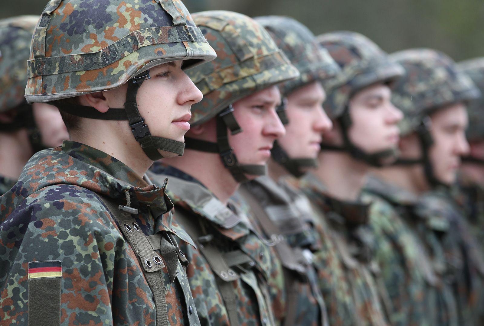 Bundeswehr/ Rekruten