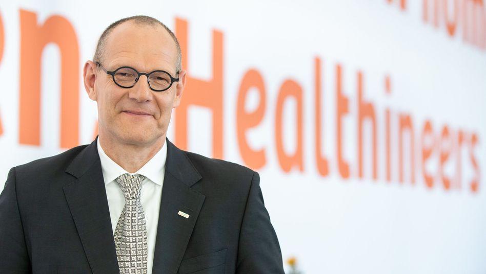 Siemens-Healthineers-Chef Montag: Lukratives Geschäftsfeld