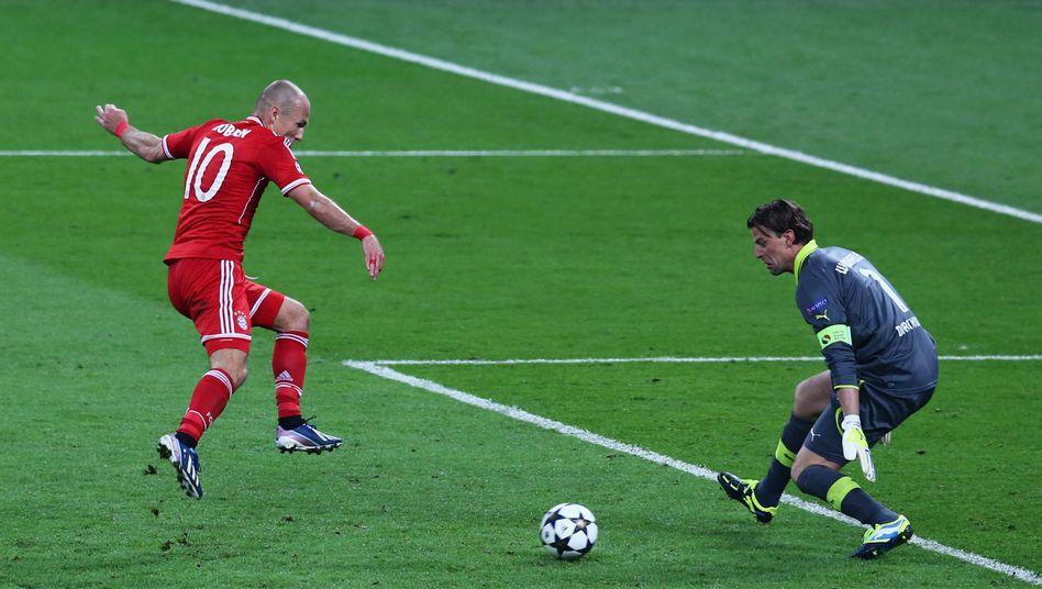 Bayerns Finalheld Robben: Fluch und Siegen
