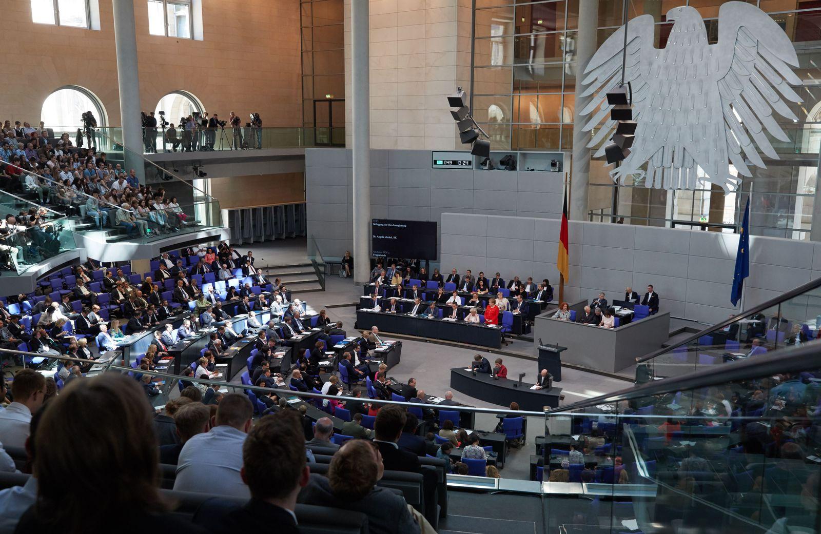 Bundestag/ Parteienfinanzierung