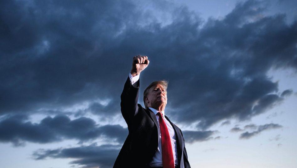 Wahlkämpfer Trump: Sein Kalkül ist, dass ihm die Impeachment-Debatte eher nutzt als schadet