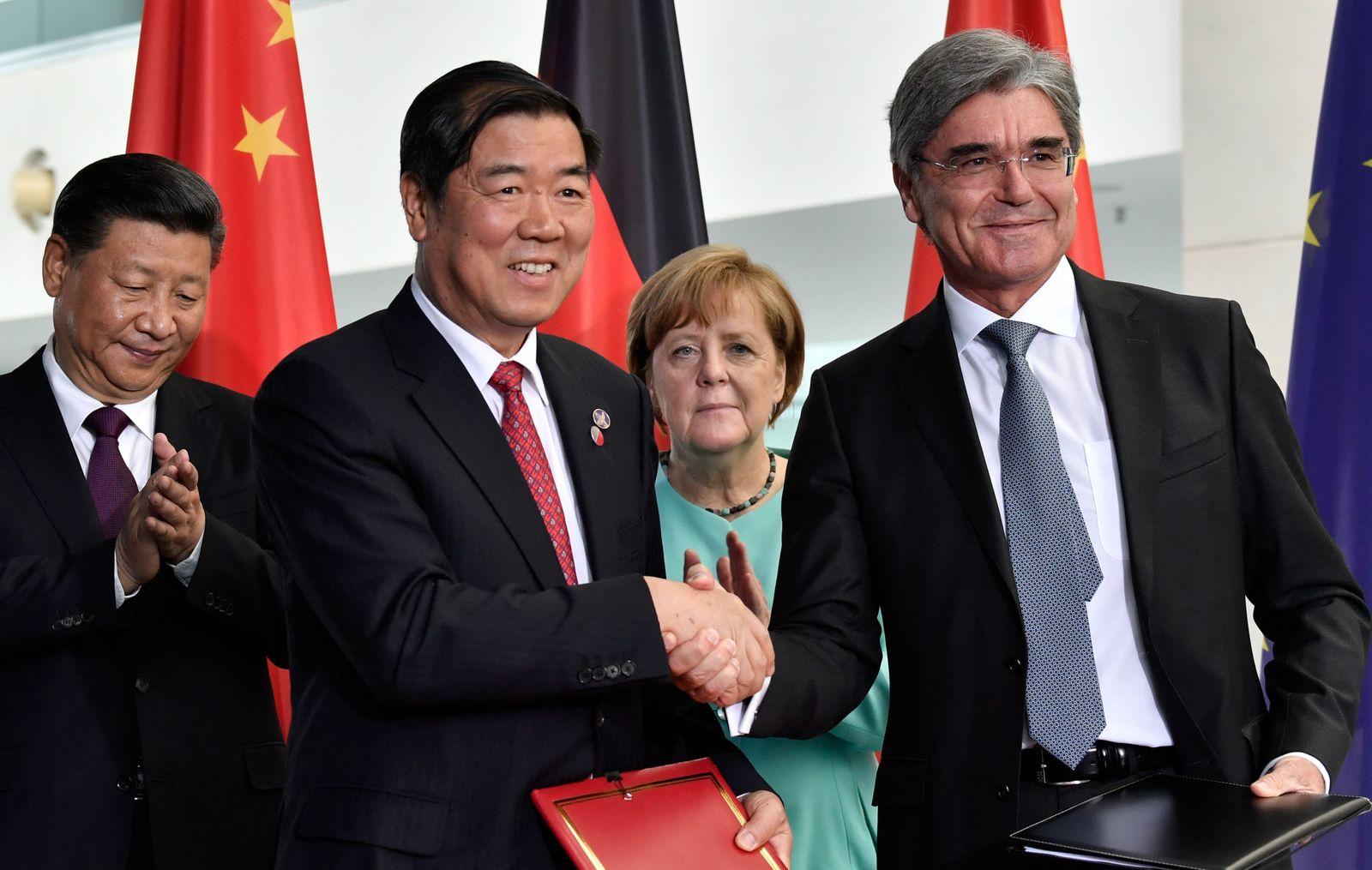Deutsch-Chinesische Beziehungnen