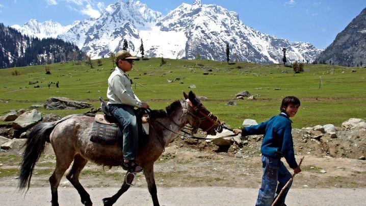 Berge in Kaschmir: Idylle in einer konfliktgeplagten Region