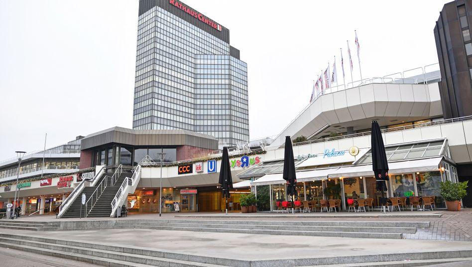 Rathaus-Center in Ludwigshafen
