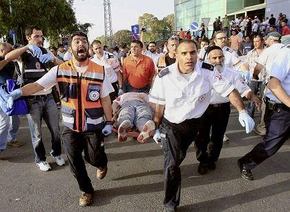 Raketenangriff auf die israelische Stadt Aschkalon am 14. Mai 2008: Kehrt nun Ruhe ein?