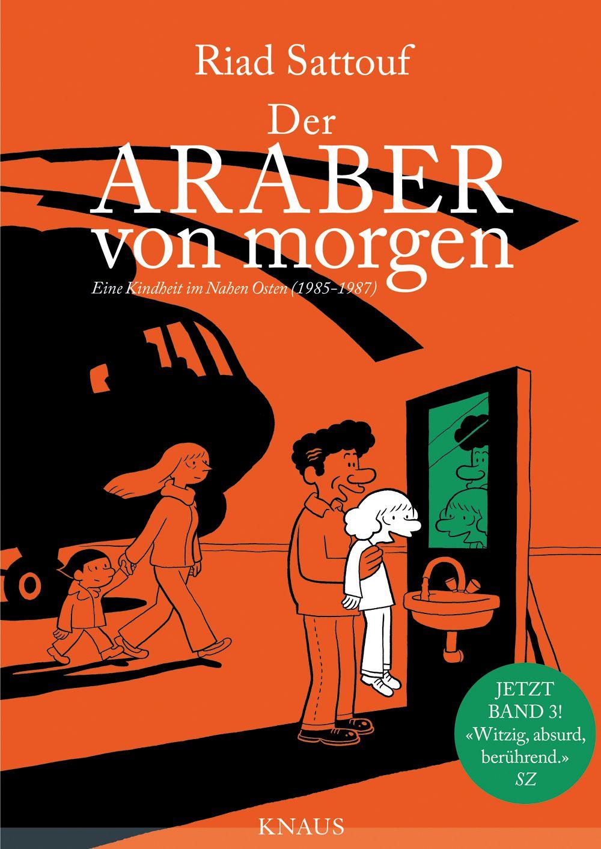 COVER Buch/ Der Araber von Morgen 3/ Riad Sattouf