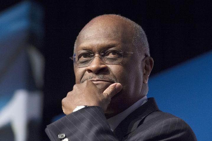 Fed statt fett? Der frühere Fast-Food-Manager und Ex-Präsidentschaftskandidat Herman Cain
