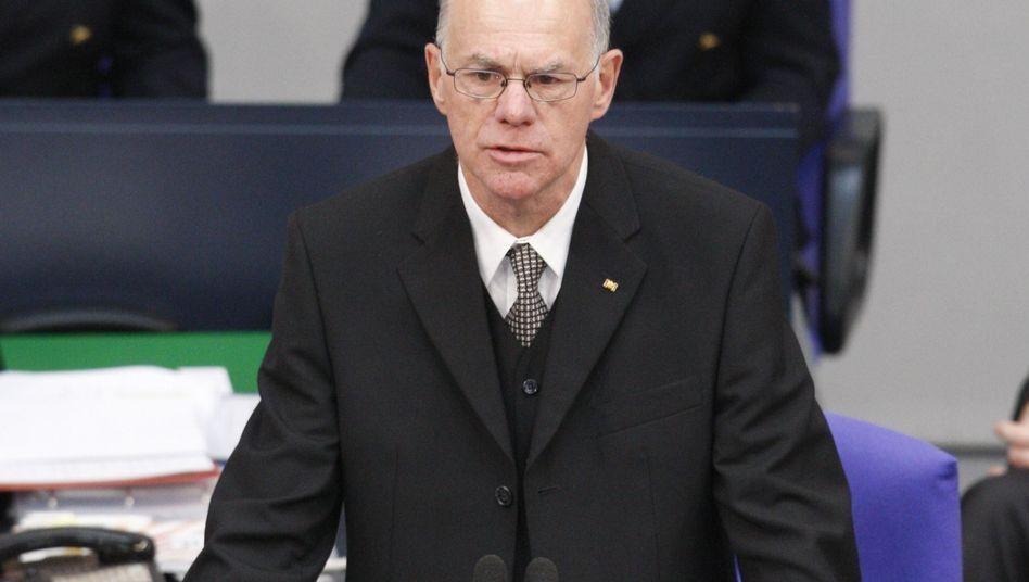 """Norbert Lammert im Bundestag: """"gewisse Wurstigkeit"""""""