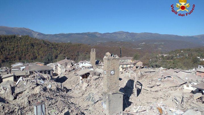 Wieder Erdbeben in Italien: Eine Region in Trümmern