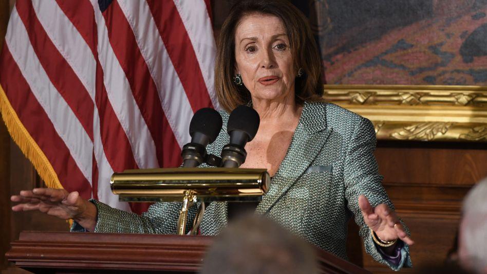 Repräsentantenhaussprecherin Nancy Pelosi
