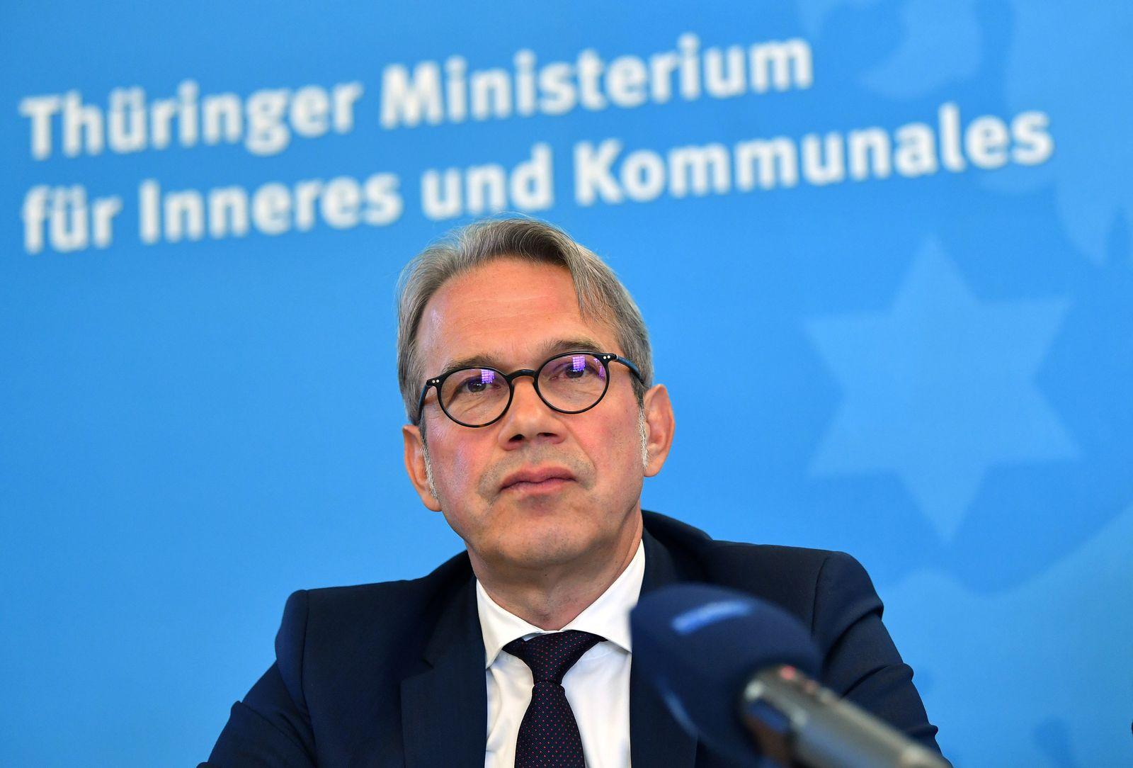 Thüringens Innenminister Georg Maier