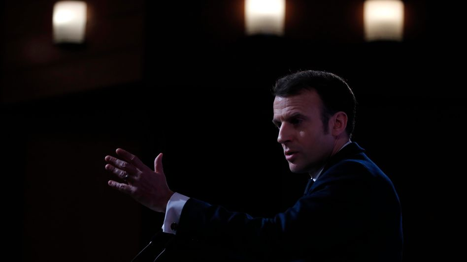 Frankreichs Präsident Macron: Atomarsenal soll transparenter werden