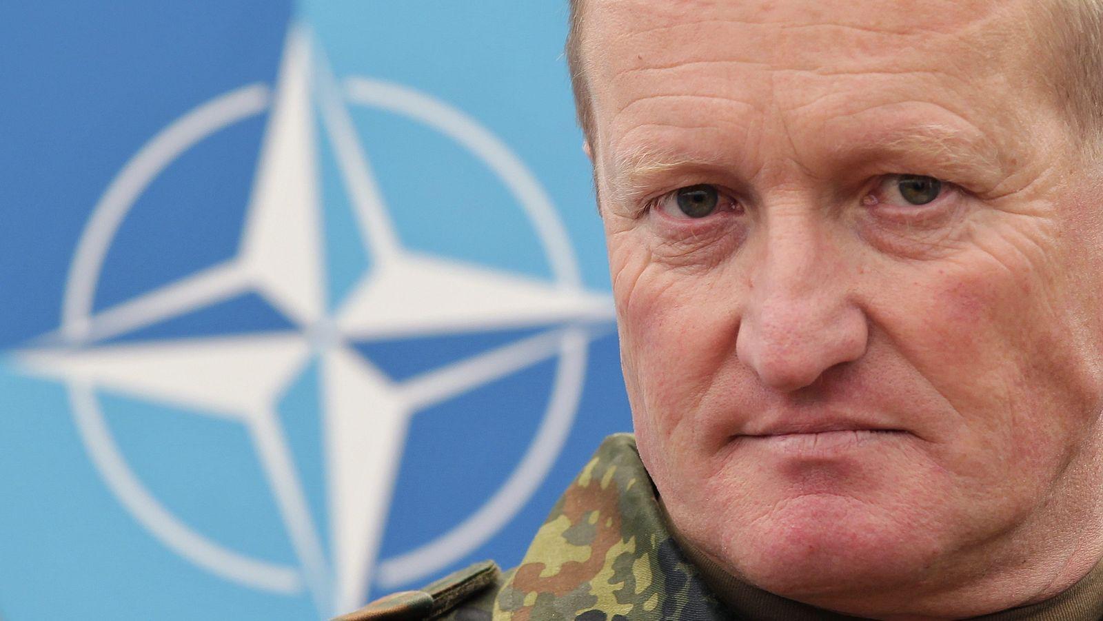 KFOR-Kommandant General Erhard Bühler