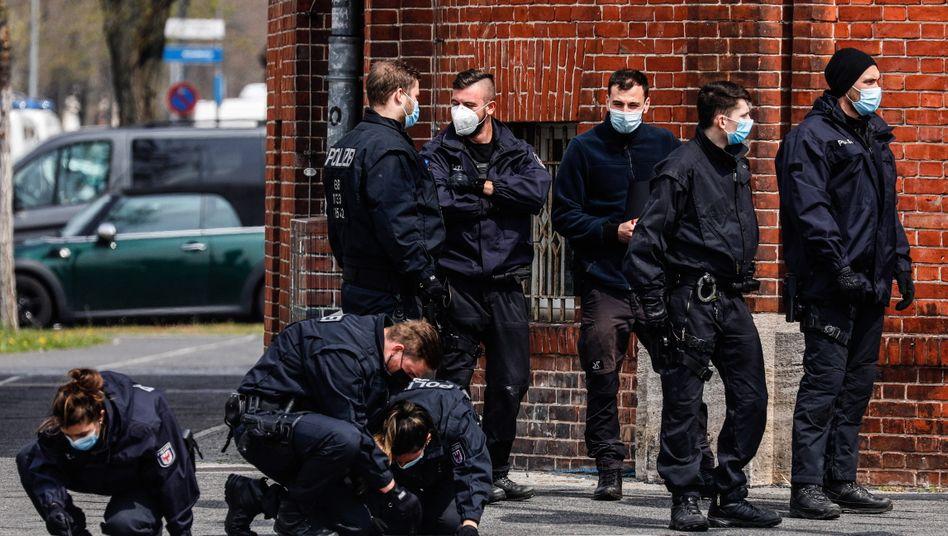 Polizeieinsatz in Potsdam