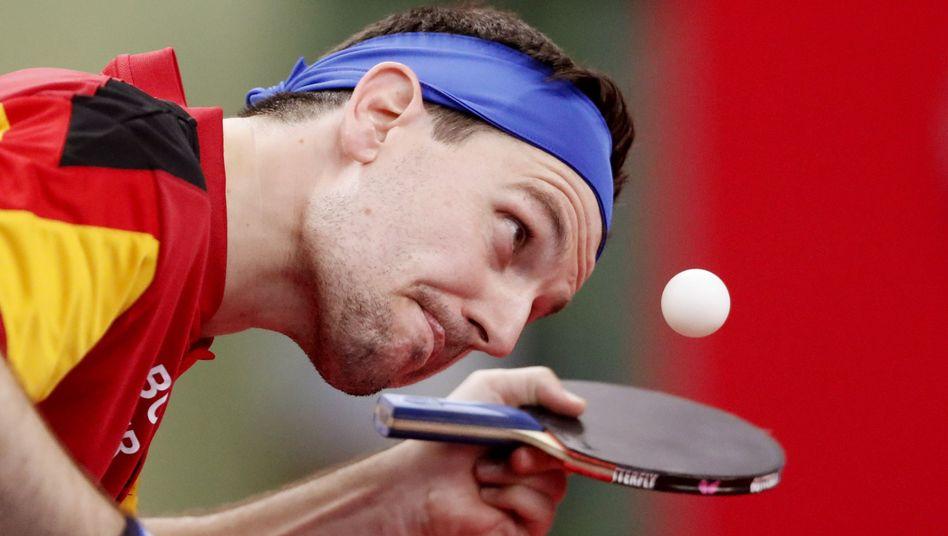 Timo Boll hat die Europaspiele in Minsk gewonnen