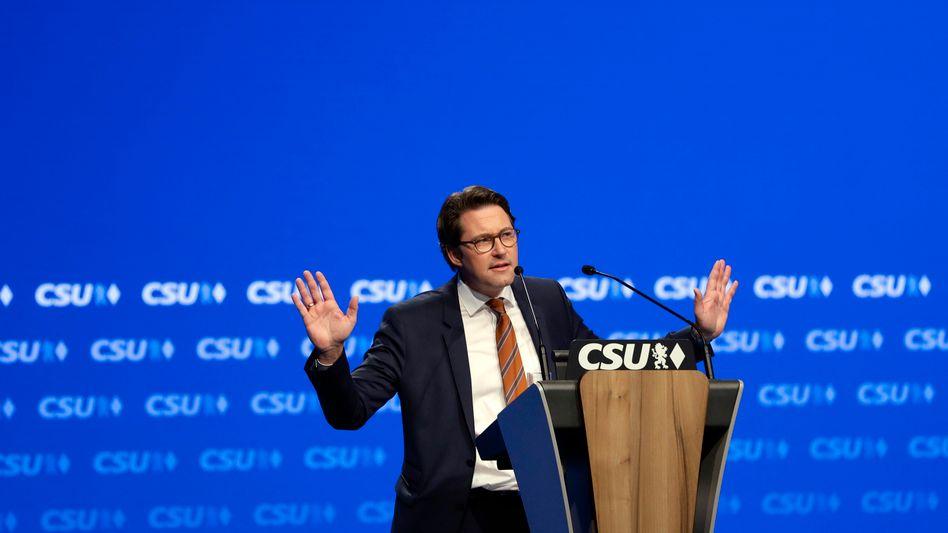 Generalsekretär Scheuer