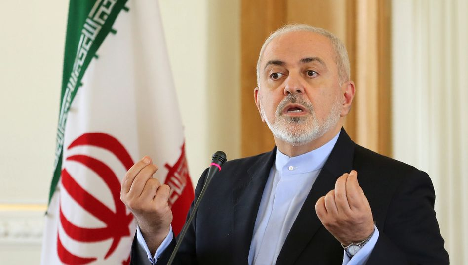 Irans Außenminister Mohammed Dschawad Sarif