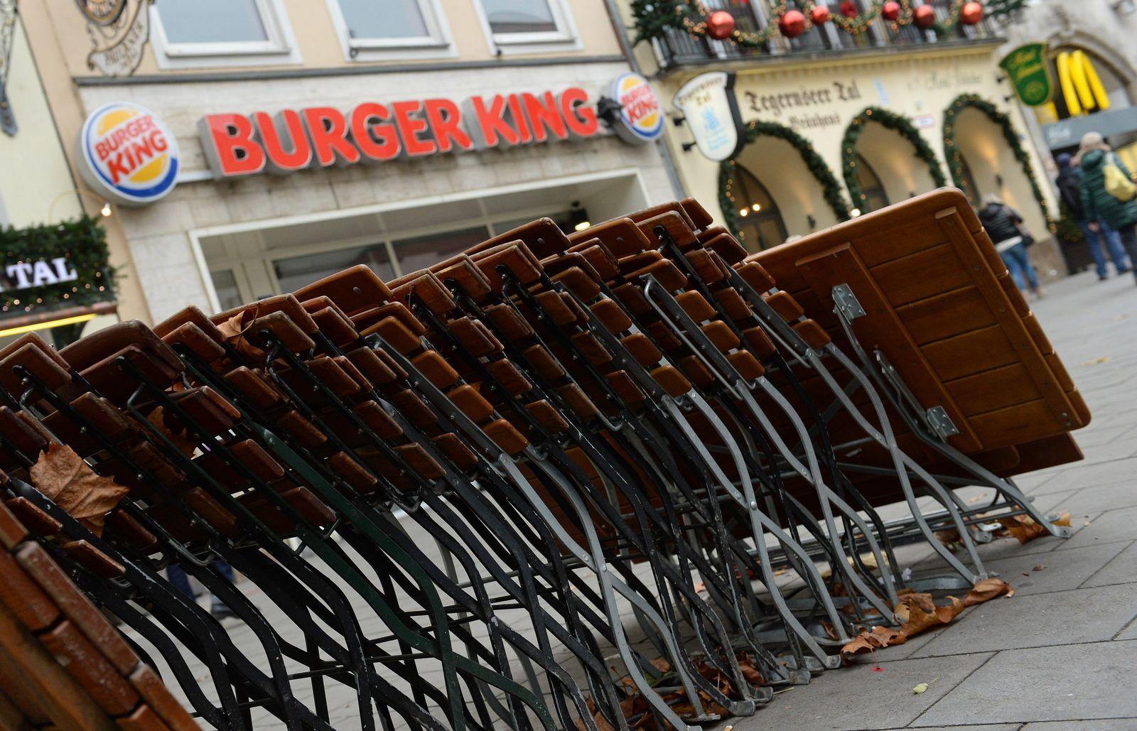 Burger-King-Restaurants bleiben geschlossen