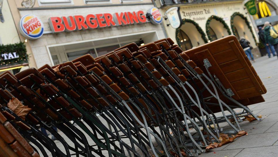 Geschlossenes Burger-King-Restaurant in München: 3000 Mitarbeiter betroffen
