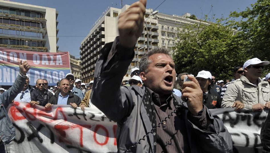 Proteste öffentlich Beschäftigter: Drohen soziale Unruhen?