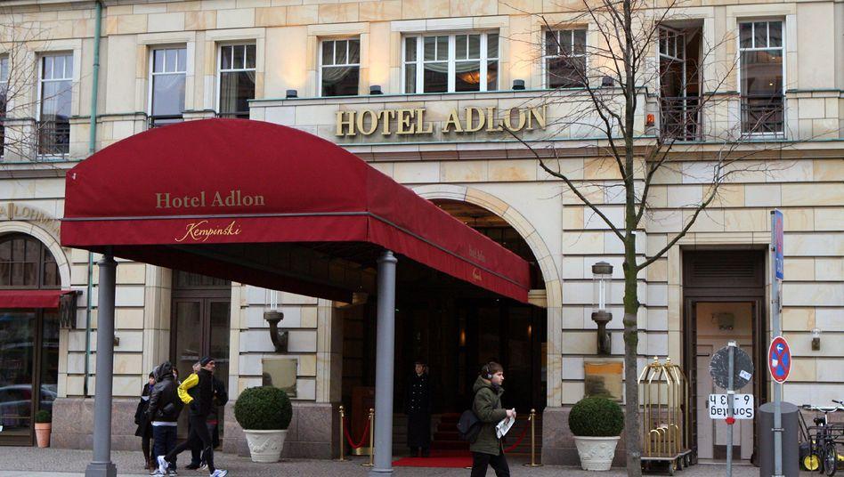 Hotel Adlon in Berlin: Eine der nobelsten Adressen der Stadt