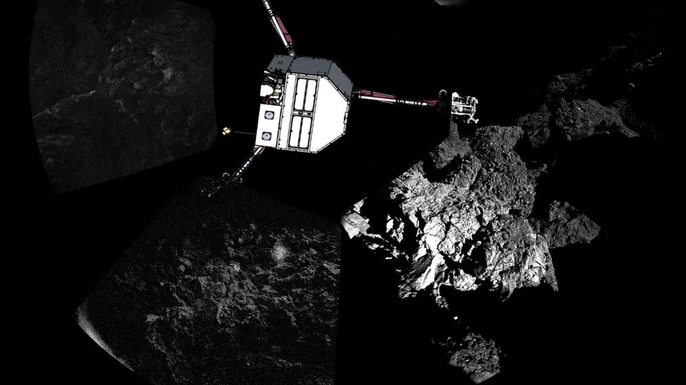 "Lander ""Philae"": Elegante Drehung auf Kometen"