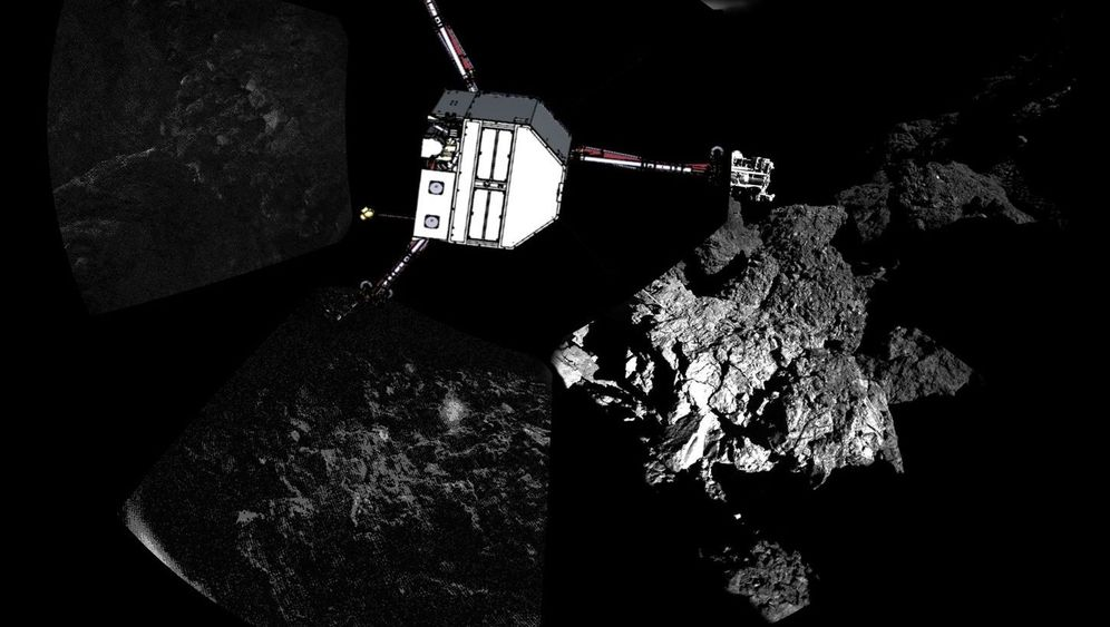 "Lander ""Philae"": Blackout auf Kometen"