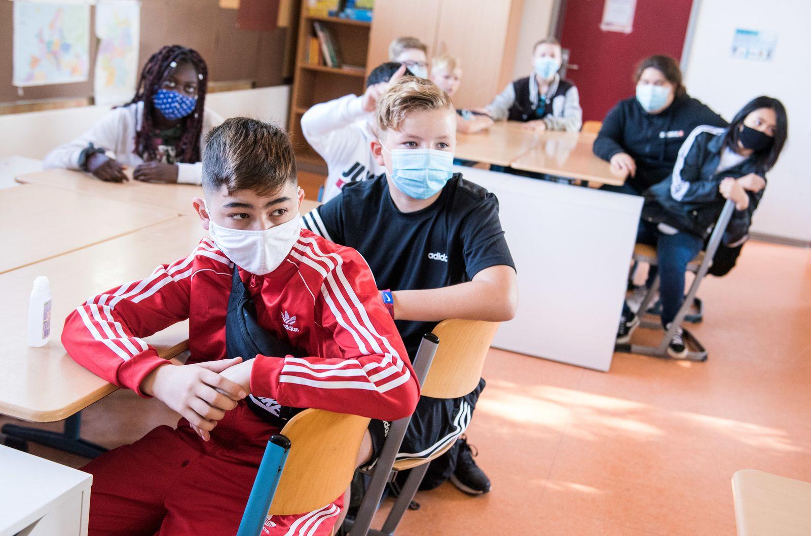 Schulbeginn in Hamburg