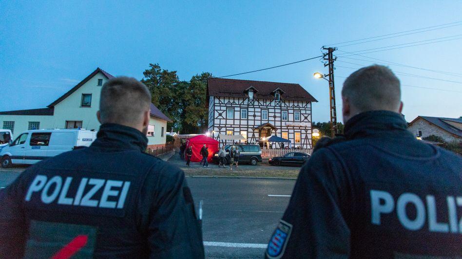 Treffpunkt für Rechtsextreme in Thüringen: Kloster Veßra