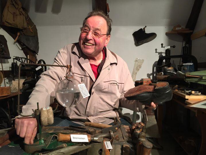 Hobby-Historiker Detlef Roggenbach