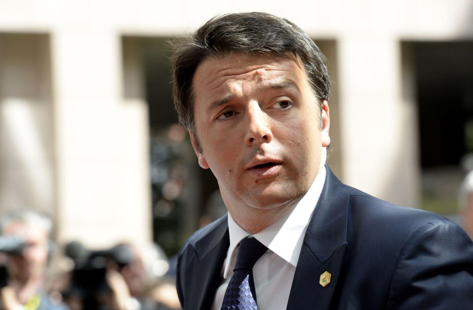 Renzi/ Kritik Schäuble