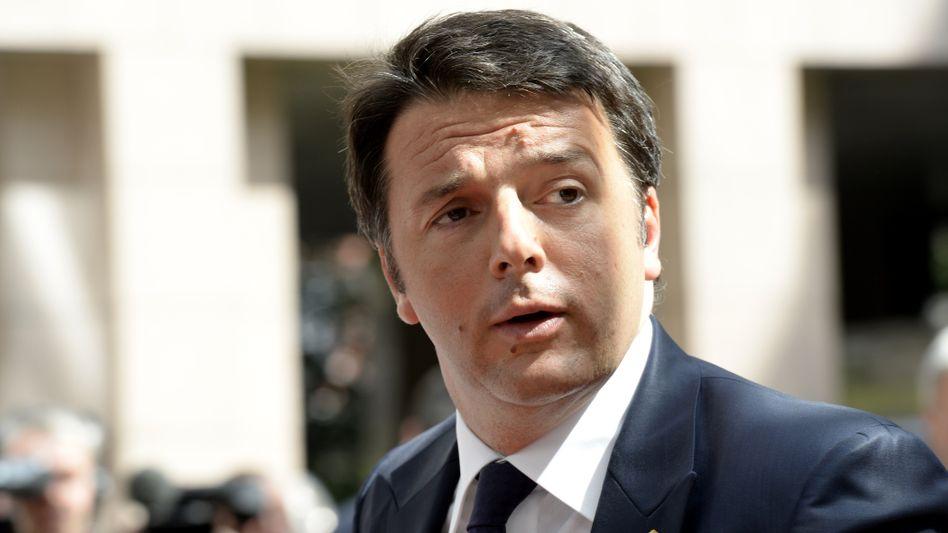 """Italiens Premier Renzi: """"Der gesunde Menschenverstand muss zum Zuge kommen"""""""