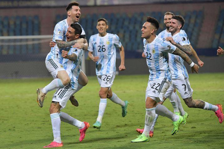So viel Spielfreude, so viel Tore, so viel Vorlagen: Lionel Messi bei der Copa América