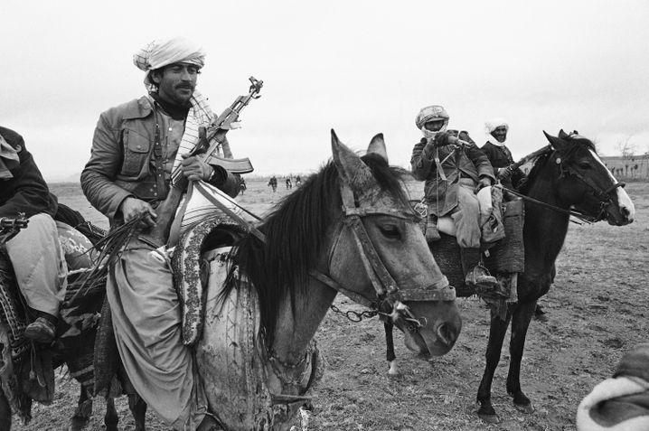 Muslimische Kämpfer in Afghanistan (1980)