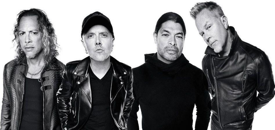 Metallica-Mitglieder Hammett, Ulrich, Trujillo, Hetfield »Manchmal ein Albtraum«