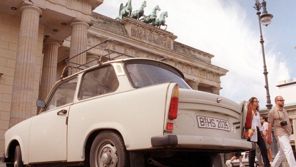 """Der Trabant: Mehr als drei Millionen Exemplare der """"Rennpappe"""" wurden zwischen 1957 und 1991 vom VEB Sachsenring Automobilbau Zwickau gebaut"""