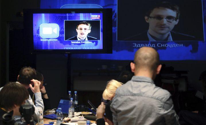 Auftritt im russischen Fernsehen für Putin