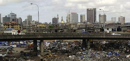 Lagos isAfrica's second-largest city and home to over 10 million people.