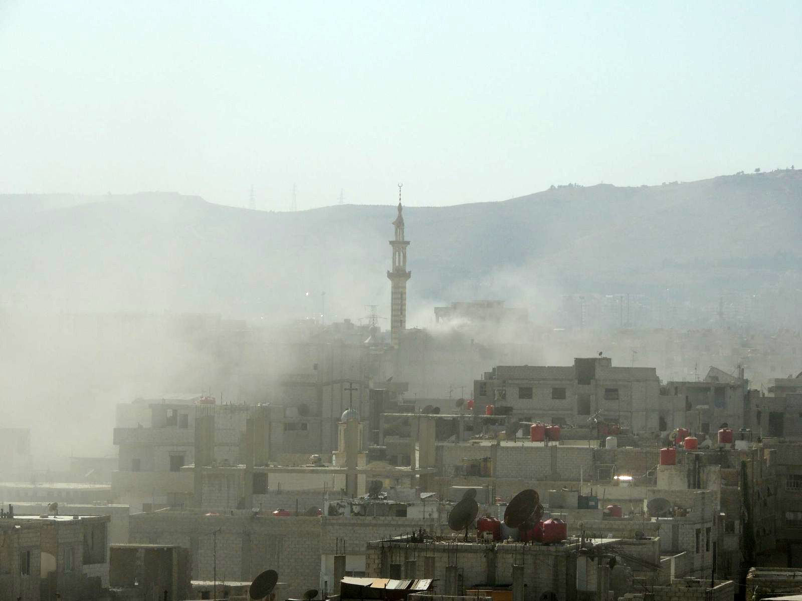 Syrien/ Giftgas-Angriff/ Ghouta
