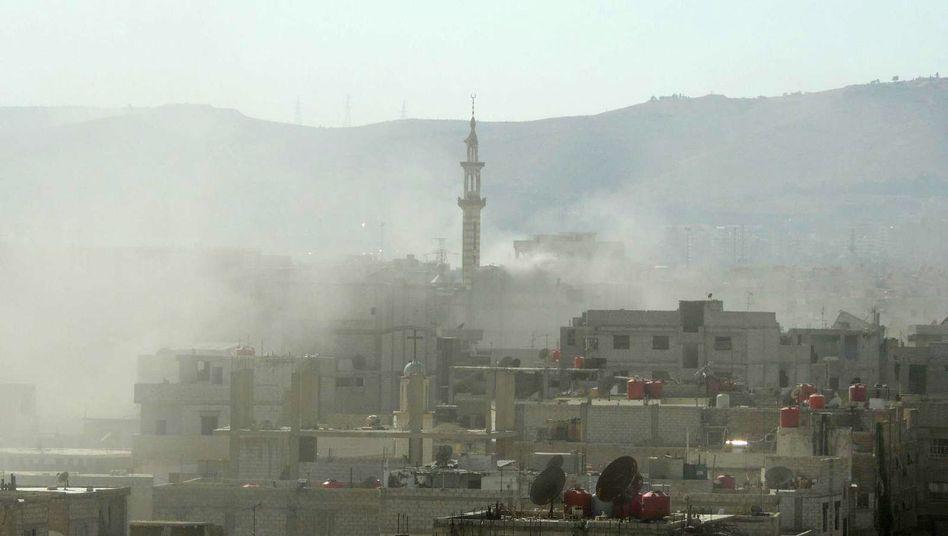 Mutmaßlicher Giftanschlag auf Damaskus (Archivbild August 2013)