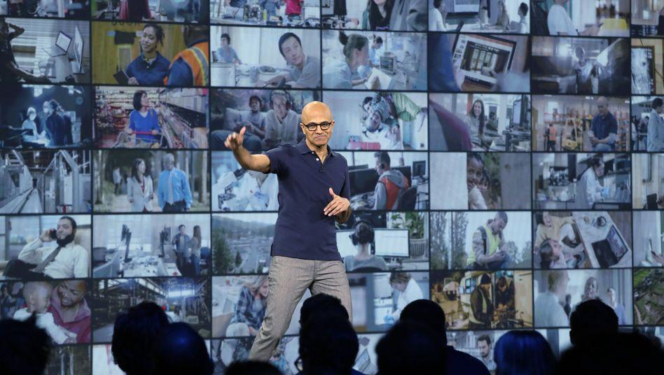 Microsoft-CEO Satya Nadella